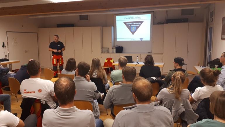 Wie funktioniert der Höhenrettungsdienst des Landkreises Ravensburg?