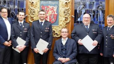 Neues Feuerwehr-Führungsteam durch Rat bestätigt
