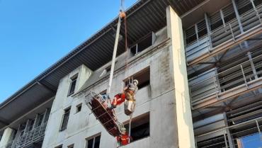 Fortbildung für Ausbilder der Höhenrettung